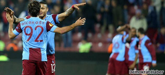 Trabzonspor adını bir üst tura yazdırdı