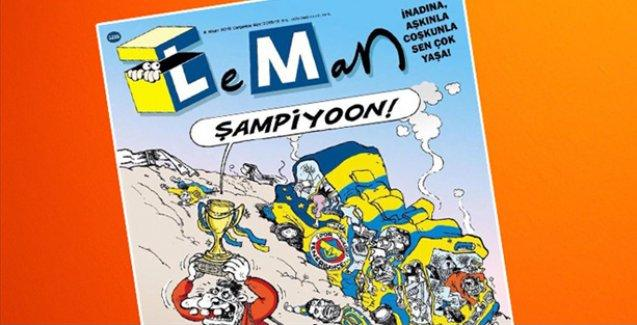 Trabzonspor'dan Leman'ın kapağına tepki