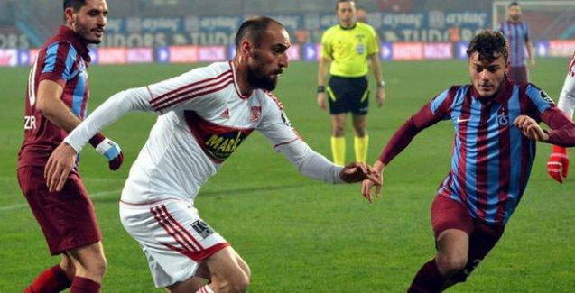 Trabzonspor Sivasspor'a son dakika golüyle elendi