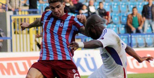 Trabzonspor'a Karabük'te ağır darbe