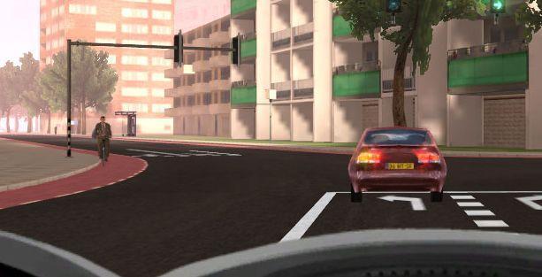 Trafikte sınırsız araba sürme keyfi