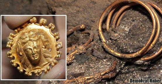 Trakyalılara ait 2400 yıllık hazine bulundu