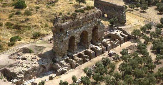 Tralleis antik kentinde şapel bulundu