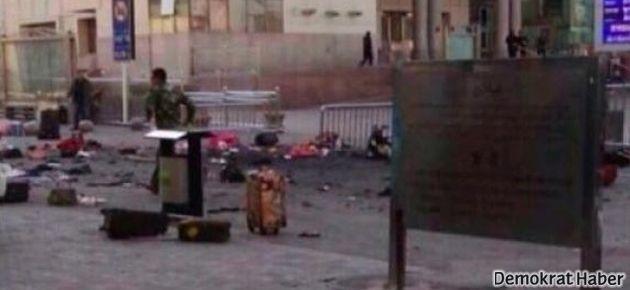 Tren istasyonunda patlama: En az 100 ölü