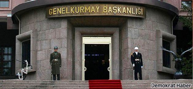 TSK: PKK yol yapım çalışmalarına taciz ateşi açtı