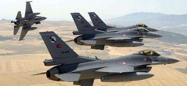 'Türk uçakları, Suriye hava sahasına girmeye çalıştı'