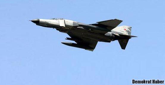 Suriye yakınında düşen TSK uçağının pilotlarına ulaşıldı