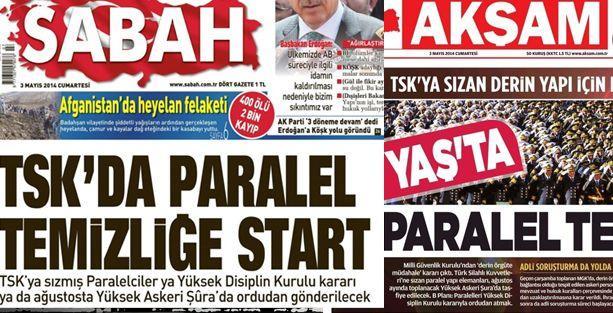 TSK'dan 'paralel yapı' haberlerine yalanlama
