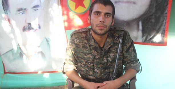 TSK'den YPG saflarına bir Türk genci