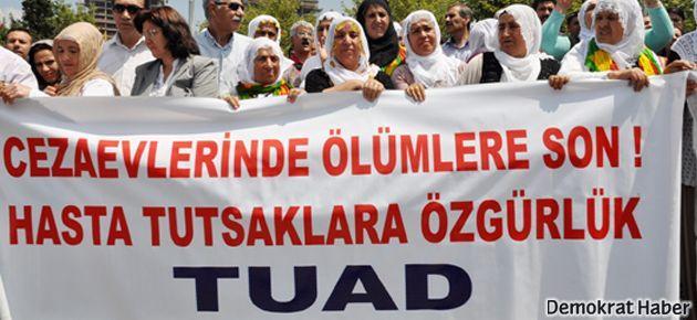 TUAD: Hasta tutuklular serbest bırakılsın