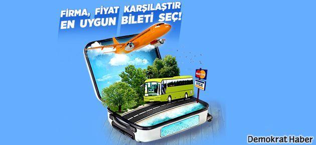 Tüm otobüs ve uçak biletleri için Online Terminalim yeter