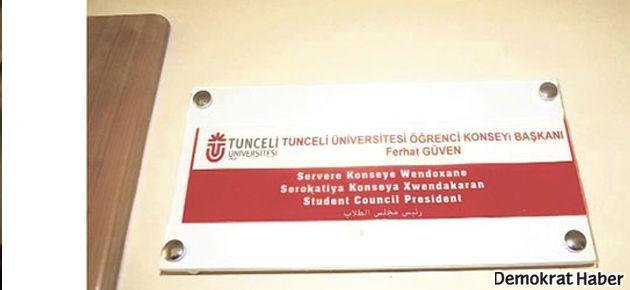 Tunceli Üniversitesi'nde 4 dilli yaşam