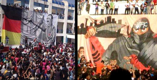 Tunus liselerinde Hitler ve IŞİD'e saygı duruşu, 'İslam için cihat' sloganları!