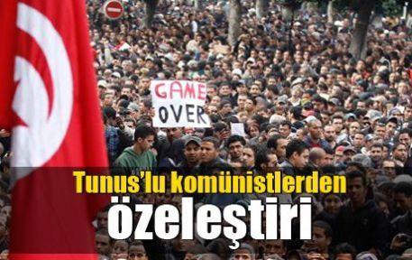 Tunus'lu komünistlerden özeleştiri