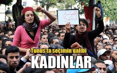 Tunus'ta seçimin galibi KADINLAR