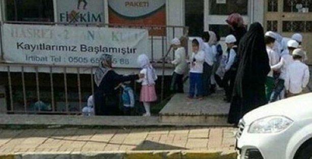 İstanbul'da merdivenaltı 'islami anaokulu'