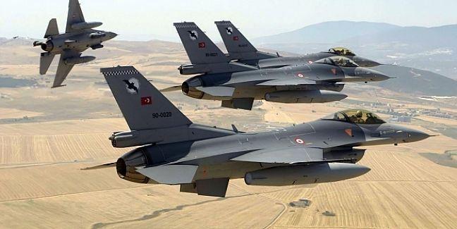 Türk savaş uçakları Suriye hava aracını düşürdü