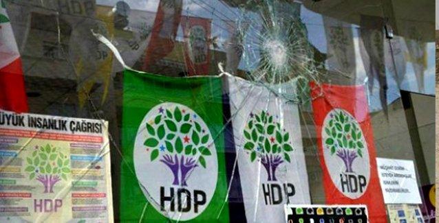 Türkiye genelinde HDP'ye 56 saldırı gerçekleştirildi!