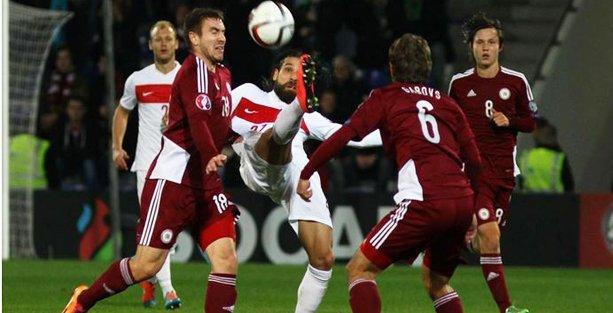 Türkiye gruptaki üçüncü maçında da umduğunu bulamadı