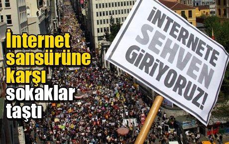 Türkiye özgürlüğüne tıklatmayacak