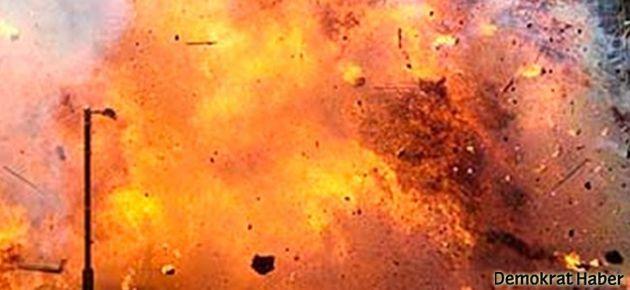 Türkiye-Suriye sınırında patlama