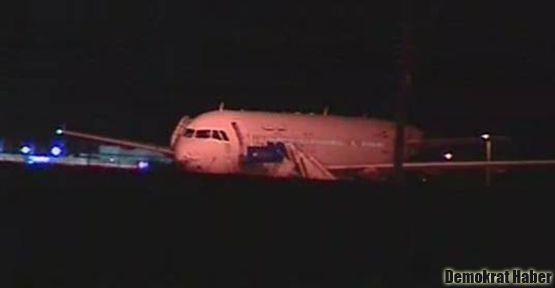 Türkiye Suriye yolcu uçağını Ankara'ya indirdi