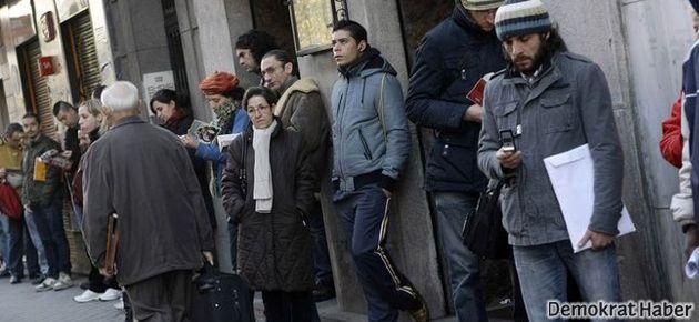 Türkiye'de işsizlik  artıyor