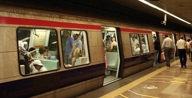 İstanbul'da metro ve tramvay seferleri durduruldu