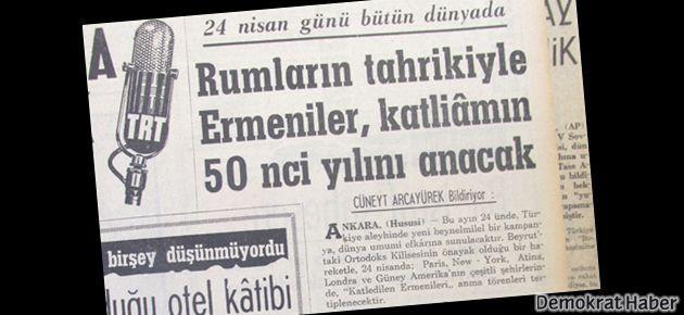 Türkiye'nin 49 yıllık '24 Nisan' tezleri