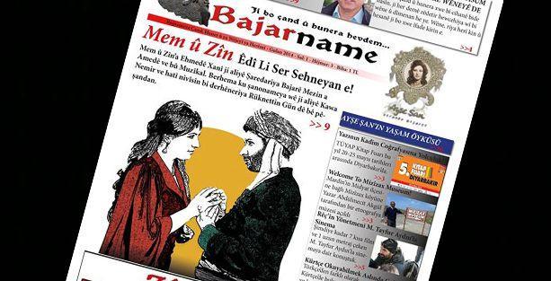 Türkiye'nin ilk Kürtçe kültür-sanat gazetesi çıktı