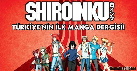 Türkiye'nin İlk Manga Dergisi: SHİROİNKU