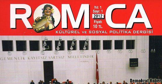Türkiye'nin ilk Roman dergisi: Rom-ca!