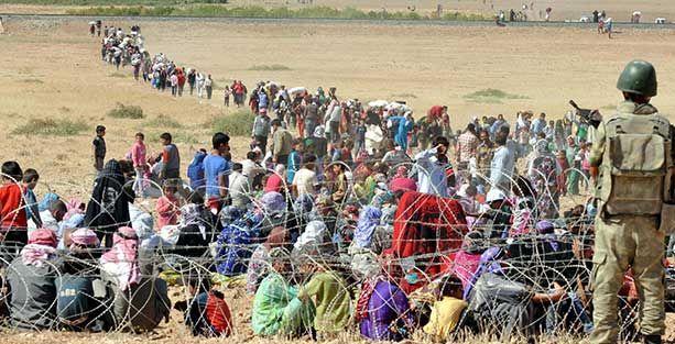 'Türkiye'ye geçen Suriyeli Kürtlerin sayısının 60 bini geçti'