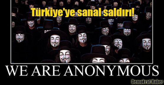 Türkiye'ye sanal saldırı!