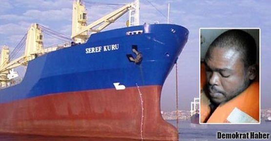 'Türkler beni denize attı'