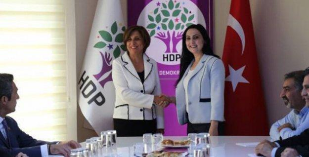 TÜSİAD heyeti HDP ile görüştü