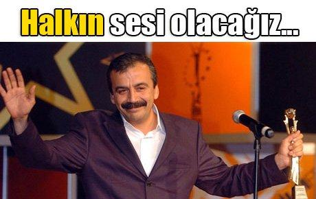 Tüzel, Önder, Kürkçü, Tunç ve Şavata: Halkın sesi olacağız