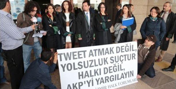 'Tweetler cezalandırılamaz'