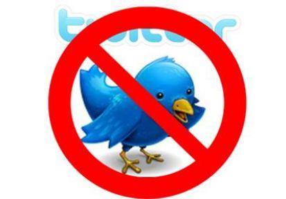 Twitter da sansürcü çıktı