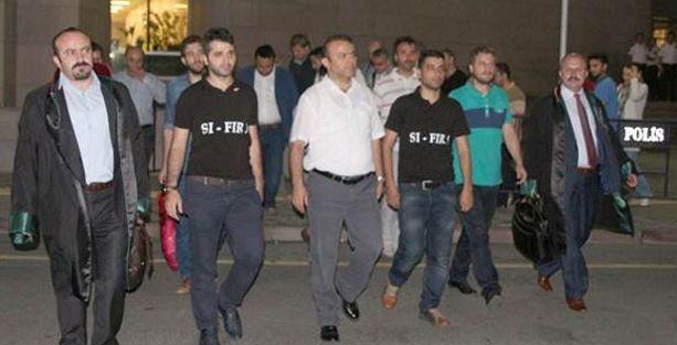 Üç polis daha tutuklandı