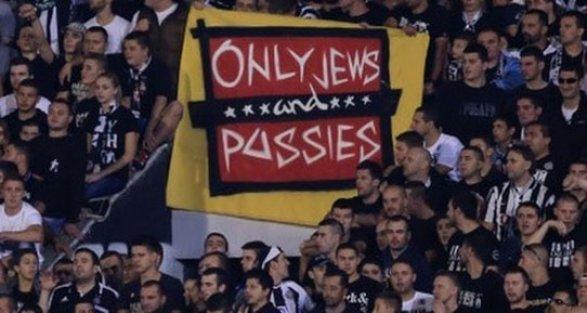 UEFA'dan Beşiktaş'ın rakibi Partizan'a ırkçılık cezası