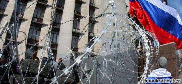 Ukrayna işgal edilen binaları 'geri alıyor'