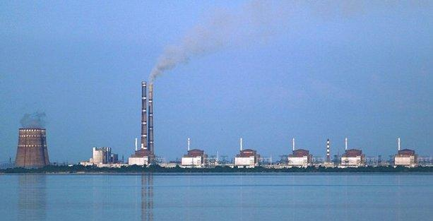 Ukrayna'daki nükleer santralde kaza