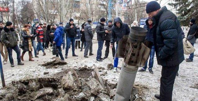 Ukrayna'ya roket yağdı: 8 ölü