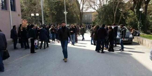 Ülkücüler Ankara Üniversitesi'ne yine satır ve bıçaklarla saldırdı