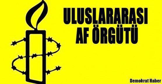 Uluslararası Af Örgütü'nden 10 Aralık çağrısı