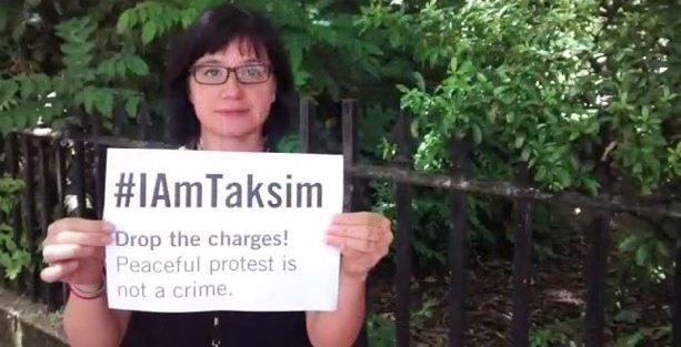 Uluslararası Af Örgütü'nden 'Gezi davası' öncesinde #IAmTaksim videosu