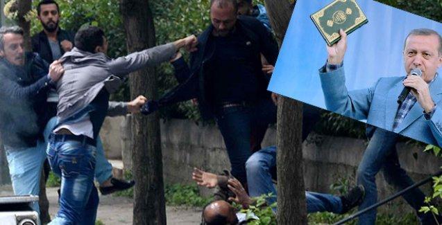 Ümit Kıvanç: Biz müslümanız diye eylemci dövmek mitingde Kur'an sallamanın başka türlüsü