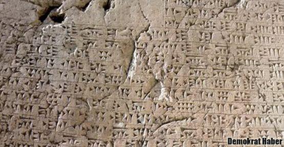 Urartu yazıtlarına artık aşklar yazılamayacak