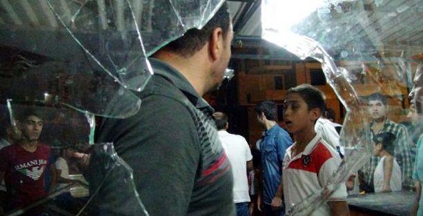 Urfa'da Suriyelilerin evi taşlandı!